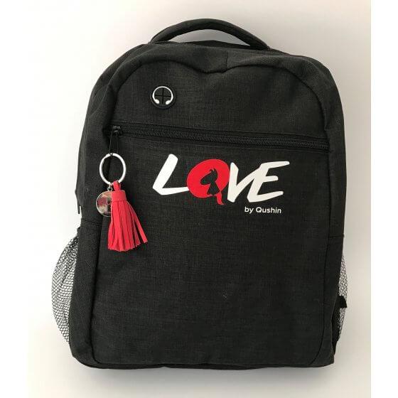 Ruksak LOVE - crni