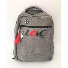 Ruksak LOVE - sivi